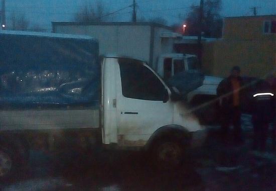 28 грудня о 15:57 до Служби порятунку «101» надійшло повідомлення про загорання автомобіля «ГАЗЕЛЬ» по вул. Тельнова у м. Кропивницькому.