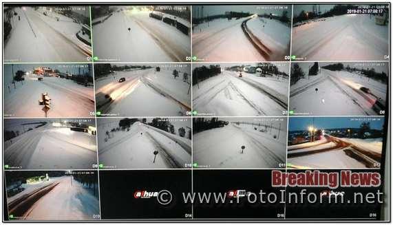 На Кіровоградщині, за ніч натрусило більше 5 см снігу,