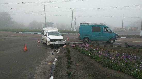 У Кропивницькому на Мурманській сталася ДТП