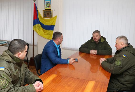У Кропивницький завітав командувач Національної гвардії України