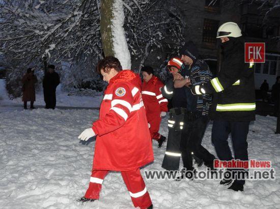 під час гасіння пожежі врятували чоловіка