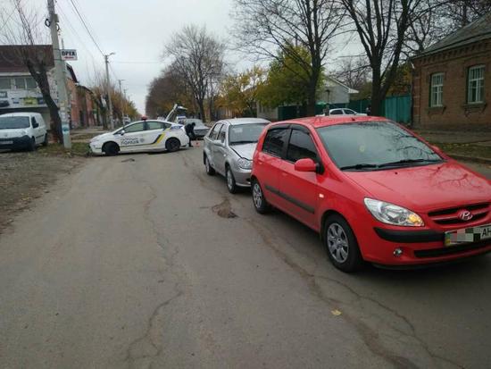 У Кропивницькому на вулиці Ярослава Мудрого сталася ДТП