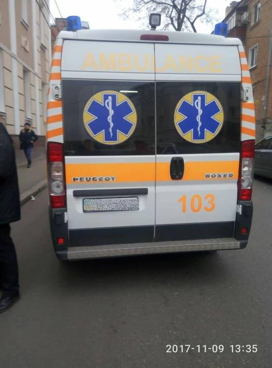 Кропивницький: у центрі міста на пішохідному переході збили жінку