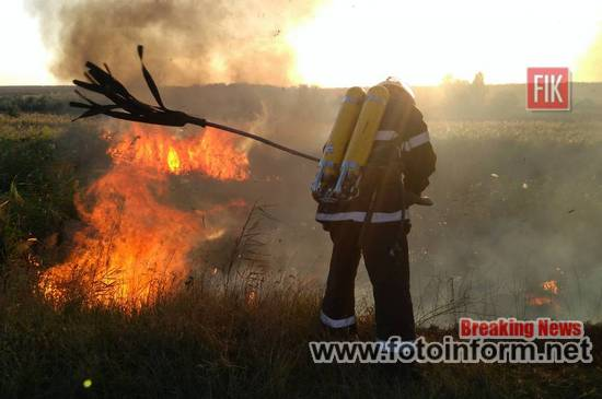 Устинівка, 22 вересня, Кіровоградщина, пожежа, рятувальники, кировоградские новости,
