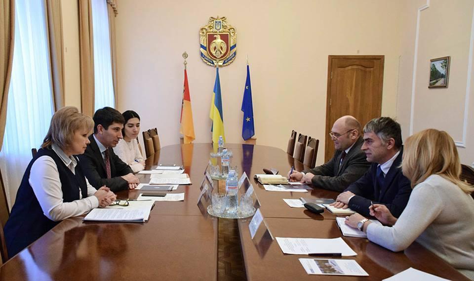 Сергій Кузьменко зустрівся з представниками моніторингової місії ОБСЄ в Україні