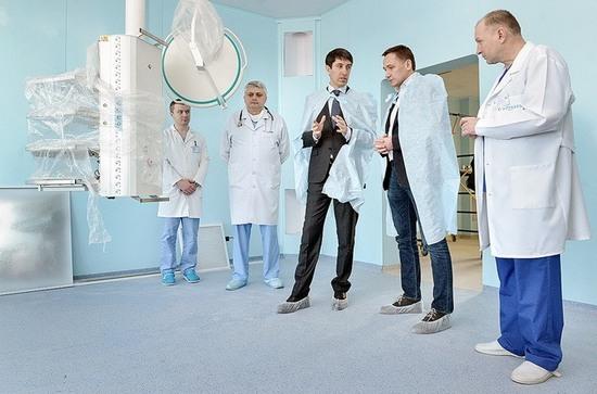 Сергій Кузьменко побував з робочою поїздкою в обласному онкологічному диспансері.