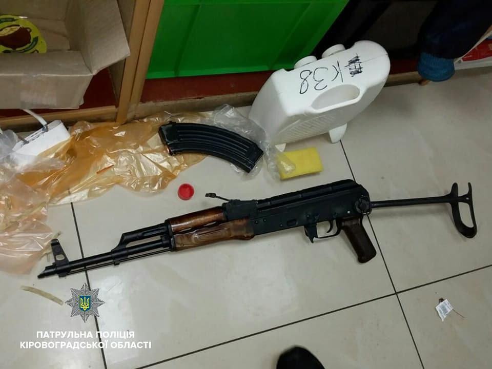 Вчора, 7 березня, пізнього вечора патрульні отримали виклик про незаконне поводження зі зброєю.