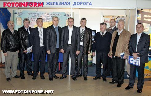 Одеська залізниця взяла участь у Міжнародній виставці (ФОТО)