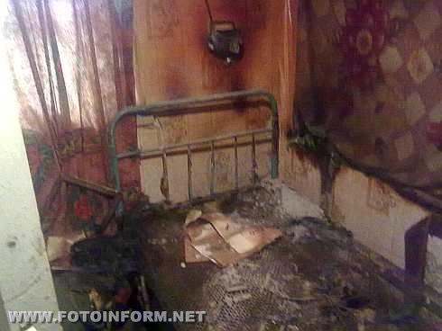 На Кіровоградщині у житловому будинку загинув 58-річний чоловік (ФОТО)