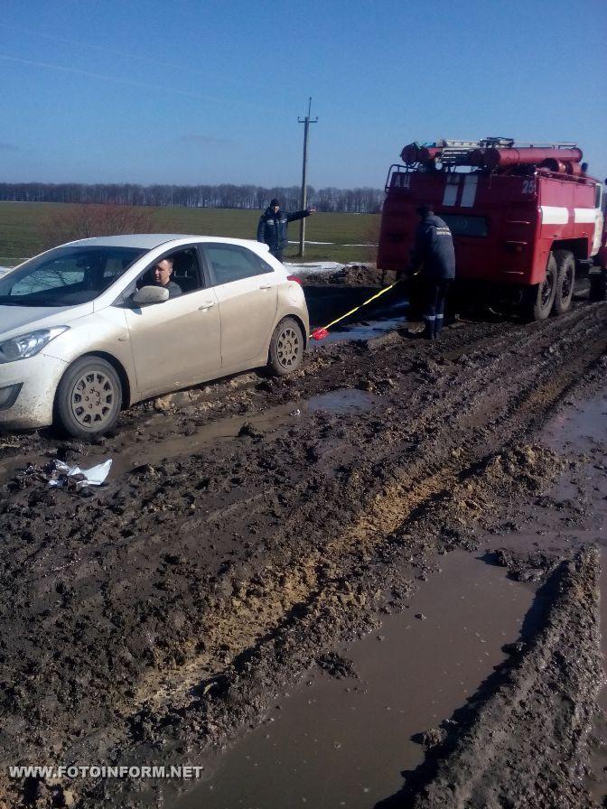 Кіровоградщина: болото замість дороги