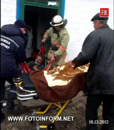 До пожежно-рятувального підрозділу смт Вільшанки надійшло повідомлення про загоряння у літній кухні с. Залізничне.