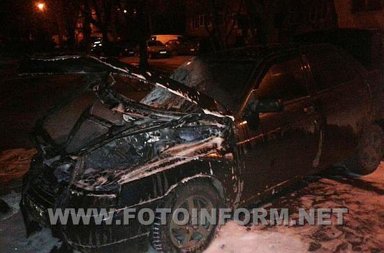 Кропивницький, на Попова горіла автівка, Служба порятунку «101», новини, ВАЗ 2110