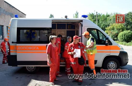 Сьогодні в обласному центрі екстреної медичної допомоги та медицини катастроф відбувся конкурс «Кіровоградські медичні ралі – 2018».