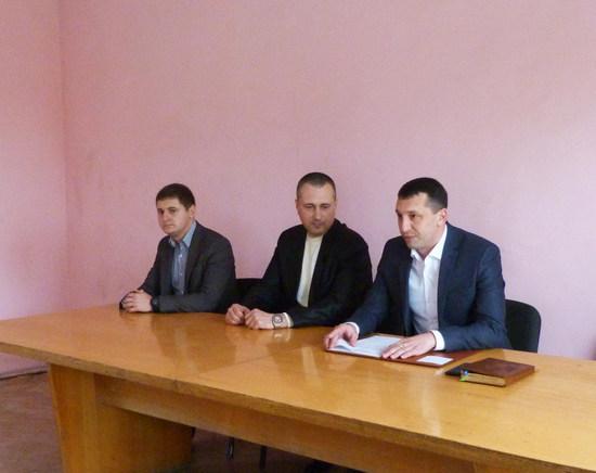 Їх особовому складу представили заступники начальника обласного главку відомства Дмитро Ткачонок та Андрій Бензар.