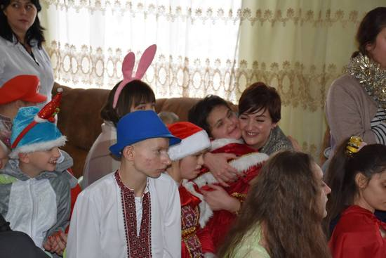 У Кропивницькому студенти ДНМУ привітали особливих дітей