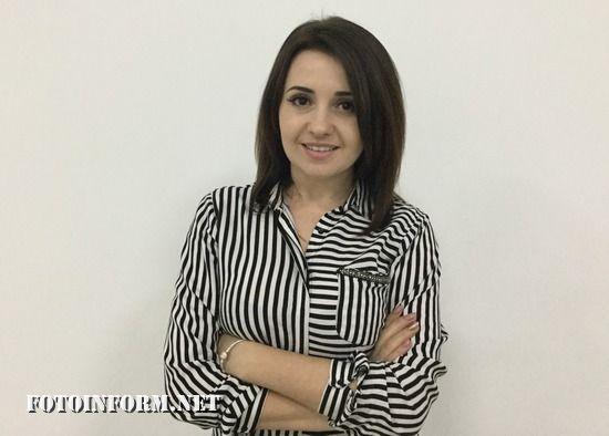 """Олена Стоян керівник Напрямку """"Еквайринг"""" Кіровоградської філії ПриватБанку"""