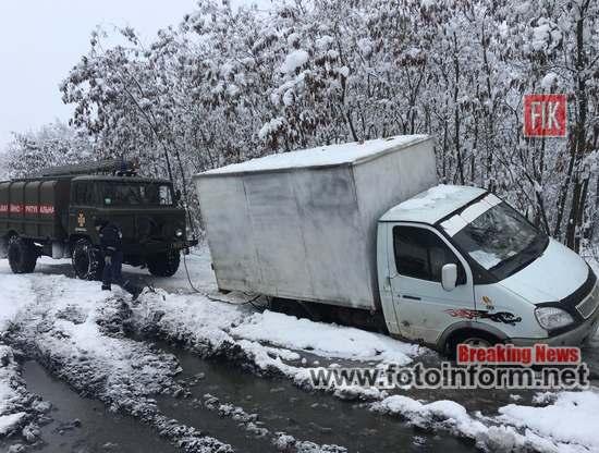 З метою ліквідації наслідків погіршення погодних умов підрозділи Управління ДСНС України у Кіровоградській області протягом 14-15 грудня залучались 13 разів.