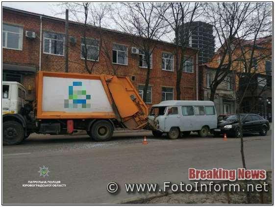 У Кропивницькому на вулиці Велика Пермська сталася ДТП