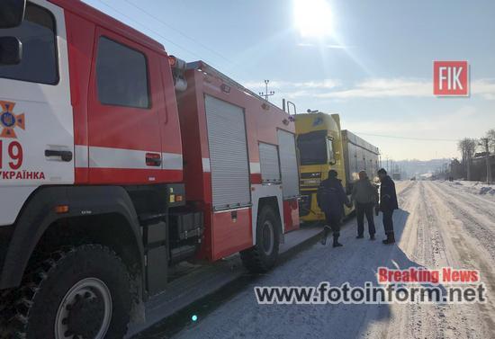 На Кіровоградщині, водіям на дорогах, 8 разів надавали допомогу