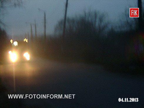 Кировоград: темные ночи Большой Балки (фото)