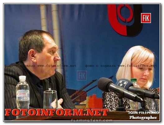 Визит мэра Кировограда на ТЭЦ в фотографиях, Андрей Райкович, Татьяне Коваленко