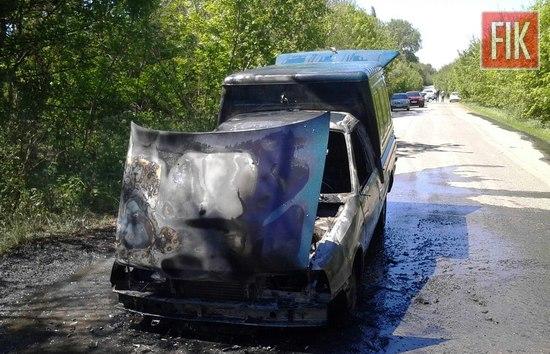 15 травня об 11:47 до Служби порятунку «101» надійшло повідомлення про пожежу поблизу с. Сухий Ташлик Вільшанського району.