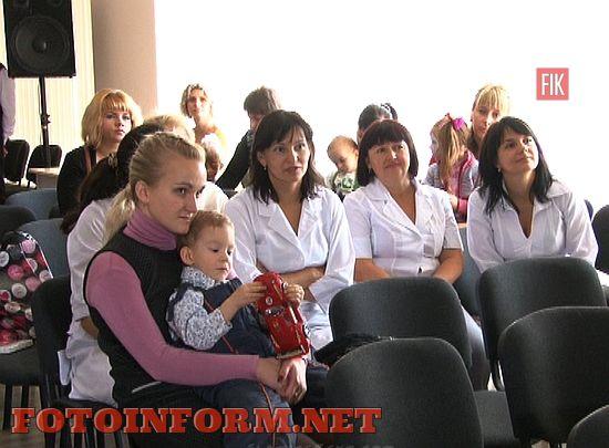 Сегодня, 17 ноября, в Кировоградском перинатальном центре состоялась акция «Бабочки надежды».