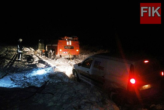 За минулу добу рятувальники Кіровоградщини тричі залучались на надання допомогу водіям по буксируванню автотранспорту.