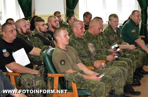 40 бійців батальйону «Кіровоград» вирушили у зону АТО (ФОТО)