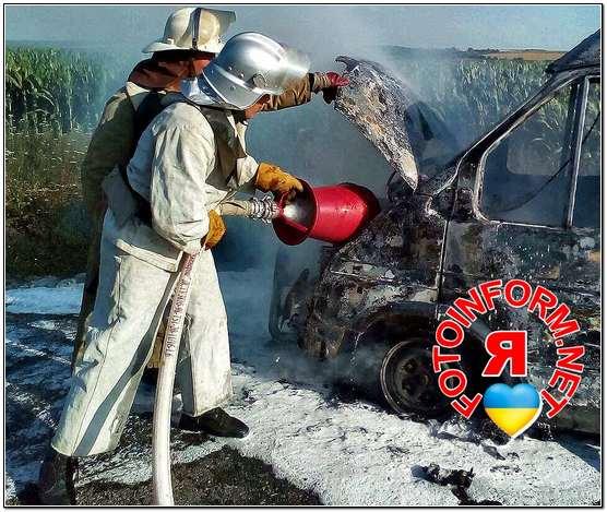 На Кіровоградщині знову горіла автівка