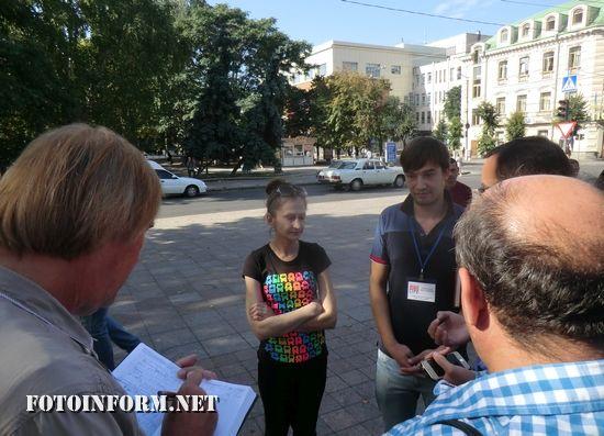 Сьогодні, 18 вересня, у Кропивницькому за ініціативою представників ЛЖВ спільноти м.Олександрія відбулася акція протесту біля приміщення Кіровоградської міської ради