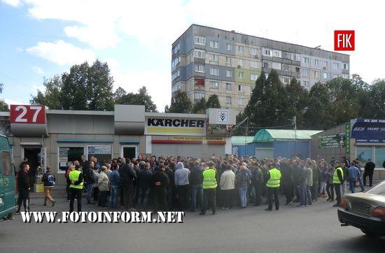 У Кропивницькому підприємці ринку обурені майбутнім підняттям орендної плати (ФОТО)