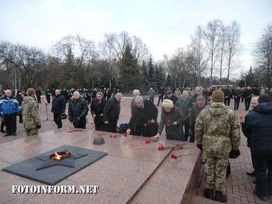У Кропивницькому вшанували пам'ять визволителів міста від нацистських загарбників (ФОТО)