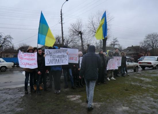 У Кропивницькому біля приміщення Кіровоградського районного суду відбулася акція шахтарів (ФОТО, ВІДЕО)
