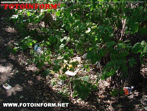 Отдых не на природе - на мусоре (ФОТО)
