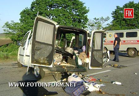 Кіровоградщина: трагедія на автодорозі (ФОТО)
