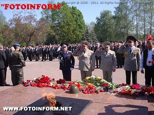 Кіровоградські правоохоронці долучилися до вшанування ветеранів Великої Вітчизняної війни (фото)