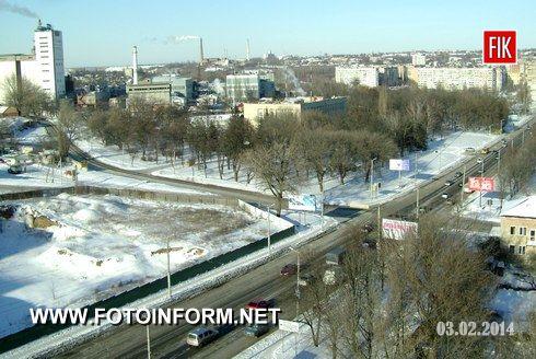 Необъятный зимний Кировоград (ФОТО)
