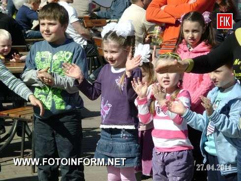 26 апреля в сказочном уголке нашего города, а именно в Кировоградском Дендропарке состоялось открытие нового сезона.