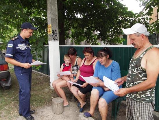 На Кіровоградщині рятувальники продовжують проводити рейди