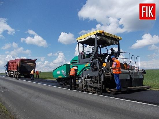 На автодорозі Стрий-Тернопіль-Кіровоград-Знам'янка триває поточний середній ремонт