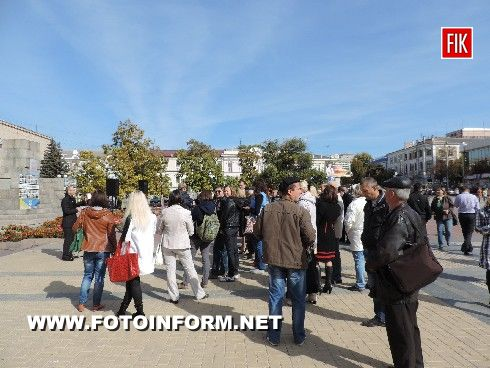Кировоград: встреча с жителями областного центра (фото)