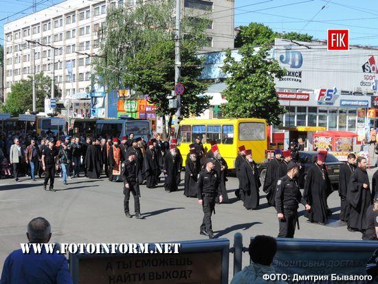У Кропивницькому мітингували представники релігійної громади
