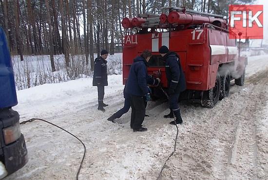 Протягом доби 11-12 січня рятувальники Кіровоградського гарнізону 11 разів виїжджали для надання допомоги водіям автотранспорту, який опинився на ускладнених ділянках дороги.