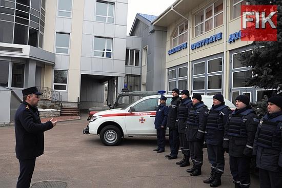 З метою належного та своєчасного виконання завдань за призначенням Державна служба з надзвичайних ситуацій України передала до Управління ДСНС у Кіровоградській області автомобіль марки «Mitsubishi L-200».