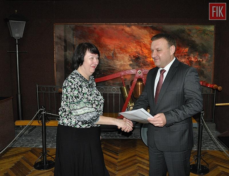 У Кіровограді пожежно-технічна виставка-музей підтвердила статус «народного музею»