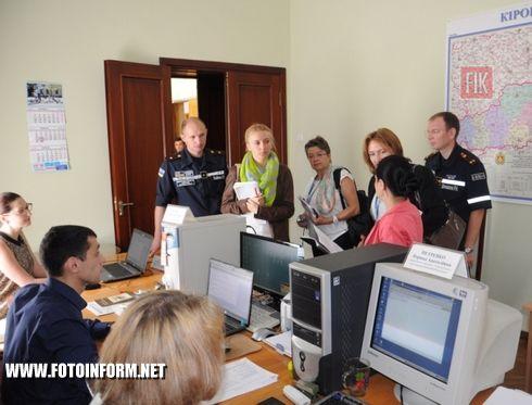 Кіровоградську область відвідали представники моніторингової місії ОБСЄ