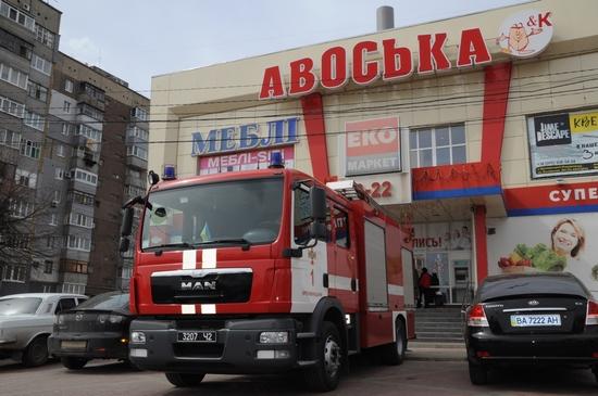 У Кропивницькому перевірено стан пожежної безпеки в супермаркеті «Авоська» та розважальному комплексі «Вельвет»