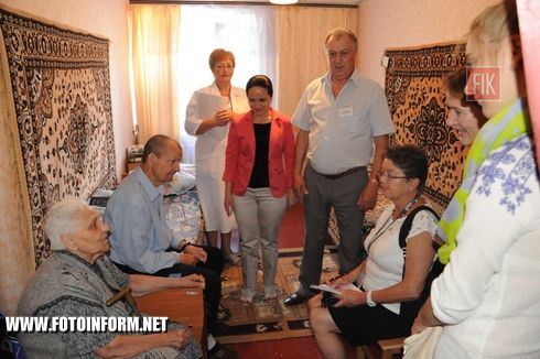 23 червня Кіровоградську область відвідали представники робочої групи Спеціальної моніторингової місії ОБСЄ в Україні з питань роботи з переселенцями з АР Крим та Східних областей України.
