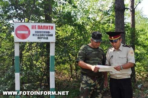 На Кіровоградщині тривають рейдові перевірки лісових масивів (фото)